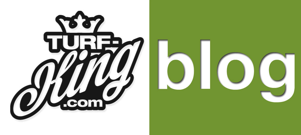 Turf King blog logo